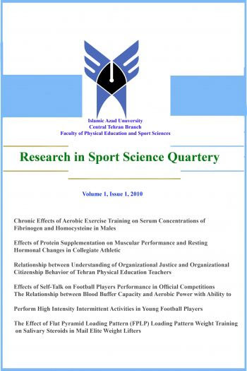 Researchers in Sport Science Quarterly